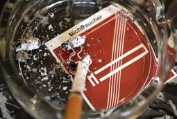 ABD0053_20150107 - WIEN - ÖSTERREICH: ZU APA0283 VOM 7.1.2015 - THEMENBILD - Illustration zum Thema Rauchen / Rauchverbot / Raucher- und Nichtraucherbereiche. Im Bild: Eine Zigarette in einem Aschenbecher aufgenommen am Mittwoch, 7. Jänner 2015, in einem Kaffeehaus in Wien. - FOTO: APA/HELMUT FOHRINGER