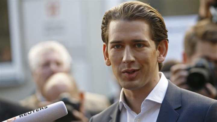Ο Αυστριακός Καγκελάριος Σεμπάστιαν Κουρτς