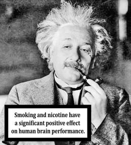 «Το κάπνισμα και η νικοτίνη έχουν μια σημαντική και θετική επίπτωση στην λειτουργία του ανθρώπινου εγκεφάλου»