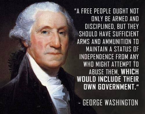 «Ένας ελεύθερος λαός χρειάζεται οπλισμένος όχι μόνο από πειθαρχία αλλά επαρκή οπλισμό να ισορροπήσει την ανεξαρτησία ακόμα κι από την ίδια κυβέρνηση»