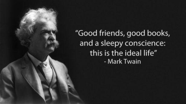 «Καλοί φίλοι και καλά βιβλία με υπνωτισμένη συνείδηση συνιστούν ιδανική ζωή»