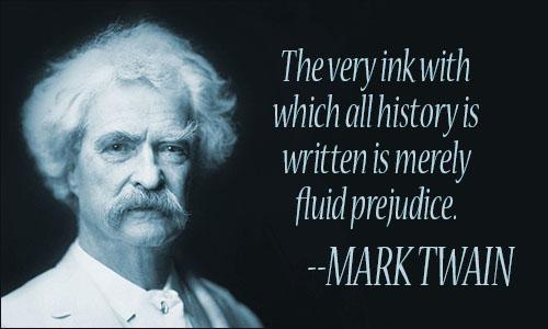 «Το μελάνι της ιστορίας συνιστά ρευστή την προκατάληψη»