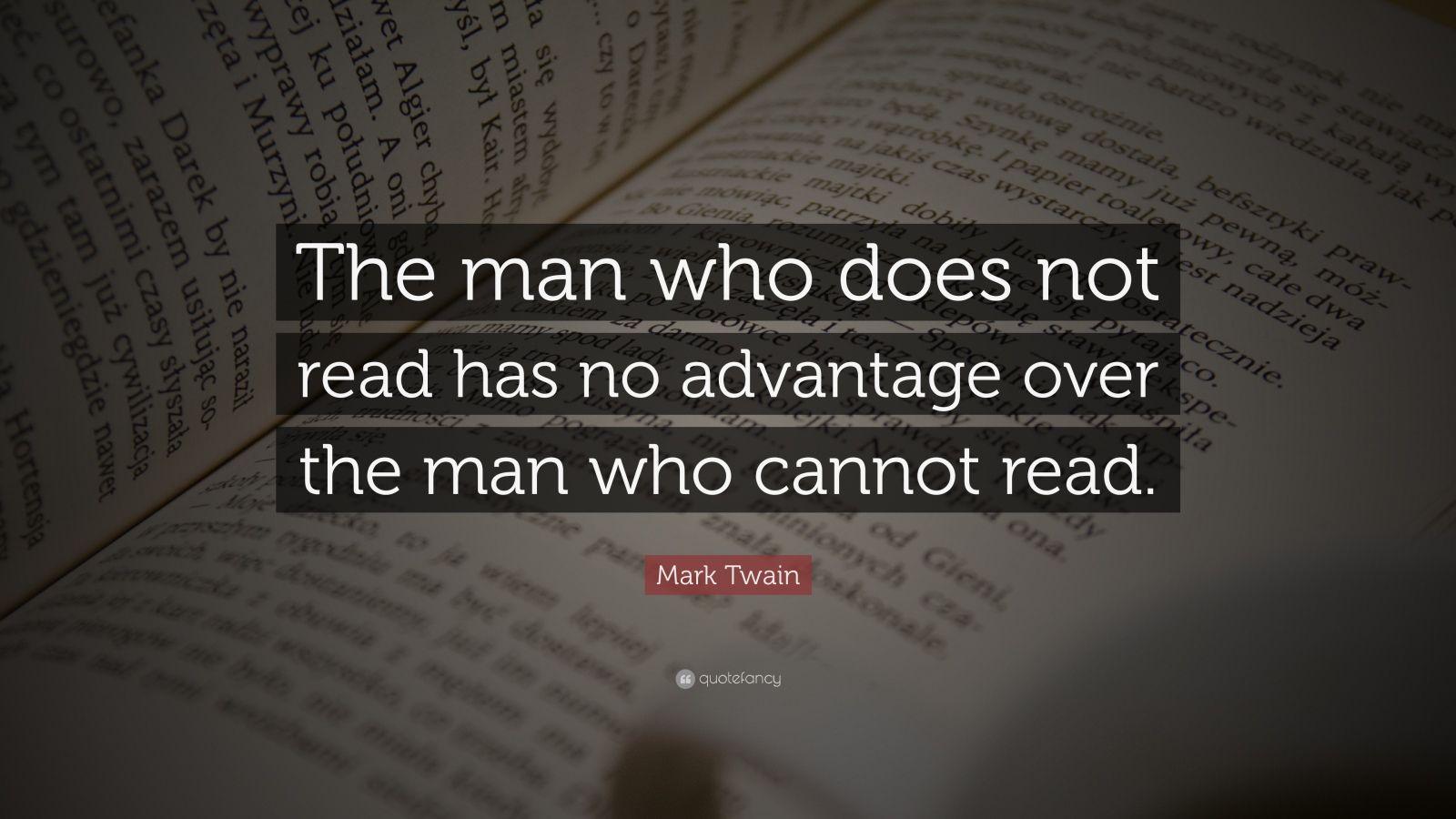 «Ο άνδρας που υπολείπεται στην ανάγνωση δεν πλεονεκτεί απέναντι σε εκείνον που δεν μπορεί»
